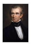 James K. Polk . 11th President of the United States. Washington D.c Impression giclée par George Peter Alexander Healy