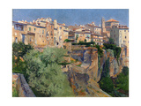 View of Cuenca, 1910, Spanish School Giclee Print by Aureliano De beruete
