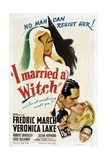 I Married a Witch, 1942, Directed by Rene Clair Giclee Print
