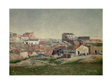 "The Outskirts of Madrid ""The Neighborhood of Bellas Vistas"" 1906 Giclee Print by Aureliano De beruete"