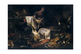 Pantry, 17th Century, Flemish School Giclee Print by Pieter Boel