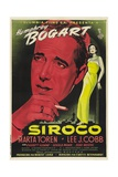 Sirocco, 1951, Directed by Curtis Bernhardt Giclee Print