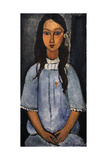 """Alice"" C.1918. National Museum of Art. Copenhagen. Denmark Stampa giclée di Amedeo Modigliani"