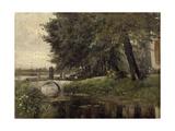 "Nijmegen ""Holland"" Ca. 1877, Spanish School Giclee Print by Carlos De haes"