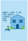When I Was a Kid Snorg Tees Poster Posters
