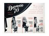 """""""Boccaccio '70"""" 1962, by Federico Fellini, Mario Monicelli, Vittorio De Sica, Luchino Visconti Giclee Print"""