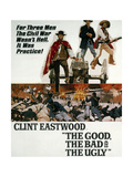"""The Good, The Bad and the Ugly"" 1966, Directed by Sergio Leone Giclee Print"