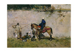 Morrocans, 1872-1874, Spanish School Giclee Print by Mariano Fortuny