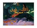 Fatata Te Miti, 1892 Giclee Print by Paul Gauguin
