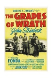 The Grapes of Wrath, Directed by John Ford, 1940 Giclee Print