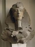Colossal Bust of Akhenaton Photographic Print