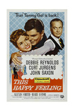 This Happy Feeling, 1958, Directed by Blake Edwards Giclee Print
