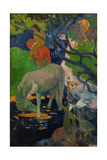 The White Horse, 1898 Impression giclée par Paul Gauguin