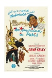 An American In Paris, 1951, Directed by Vincente Minnelli Giclée-Druck