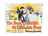 """""""The Best Things in Life are Free"""" 1956, Directed by Michael Curtiz Giclee Print"""