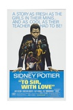 To Sir, With Love, 1967, Directed by James Clavell Giclee Print