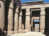 Egypt, Karnak, Temple of Khons Courtyard Photographic Print