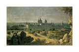 View of El Escorial, 1720-1722 Giclee Print by Miechel-Ange Houasse