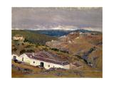 Venta del Macho, Toledo, 1911, Spanish School Giclee Print by Aureliano De beruete