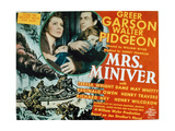 Mrs Miniver, 1942, Directed by William Wyler Giclee Print