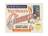 Cinderella, 1950, Directed by Clyde Geronimi, Wilfred Jackson, Hamilton Luske Giclee Print