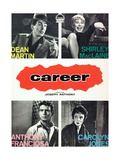 """Dean Martin and Shiley MacLaine in """"Career"""" Giclee Print"""