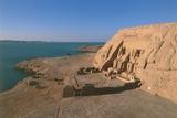 Temple of Ramses II at Lake Nasser Photographic Print