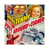 "Shirley Temple in ""Just Around the Coner"" Giclee Print"