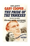 The Pride of the Yankees, 1942, Directed by Sam Wood Giclee Print