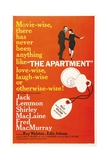 The Apartment, 1960, Directed by Billy Wilder Gicléetryck