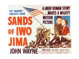 "John Wayne in ""Sands of Iwo Jima"" Giclee Print"