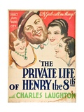 The Private Life of Henry Viii, 1933, Directed by Alexander Korda Giclee Print