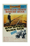 "Bad Day At Hondo, 1955, ""Bad Day At Black Rock"" Directed by John Sturges Gicleetryck"