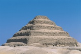 Funerary Monument to King Djoser 'step Pyramid' Photographic Print