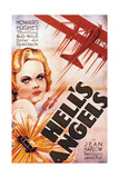 "Howad Hughes' ""Hell's Angels"" wih Jean Harlow Giclee Print"