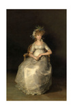 The Countess of Chinchón, 1800, Spanish School Giclee Print by Francisco De Goya