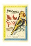 "Noel Coward's, 1945, ""Blithe Spirit"" Directed by David Lean Giclee Print"