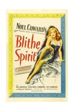 "Noel Coward's 'blithe Spirit', 1945, ""Blithe Spirit"" Directed by David Lean Gicleetryck"