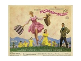 """Rodgers And Hammerstein's """"The Sound of Music"""" 1965, Directed by Robert Wise Reproduction procédé giclée"""