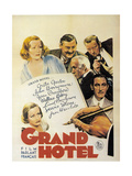 Grand Hotel, 1932, Directed by Edmund Goulding Giclee Print