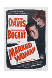 Marked Woman, 1937, Directed by Lloyd Bacon Giclee Print