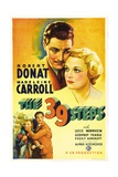 "The Thirty-nine Steps, 1935, ""The 39 Steps"" Directed by Alfred Hitchcock Giclee Print"