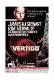 """Listen Darkling, 1958, """"Vertigo"""" Directed by Alfred Hitchcock Gicléetryck"""