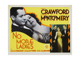 No More Ladies, 1935, Directed by Edward H. Griffith Giclee Print
