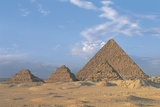 Pyramid of Menkaure (Greek: Mykerinus), 4th Dynasty, Egypt, Cairo, Ancient Memphis, Giza Photographic Print