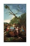 The Swing, 1779, Spanish School Giclee Print by Francisco De Goya