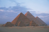 Pyramids of Giza, Egypt, Cairo, Ancient Memphis (Unesco World Heritage List, 1979) Photographic Print