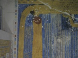 Egypt, Thebes, Luxor, Valley of the Kings, Mural Painting in Tomb of Ramses IV Photographic Print
