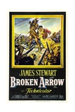 Broken Arrow, 1950, Directed by Delmer Daves Giclee Print