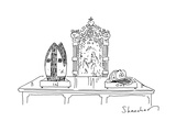 Pope's retirement - Cartoon Regular Giclee Print by Danny Shanahan